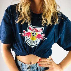 [Vintage 06] Red Bull New York Short Sleeve Tee